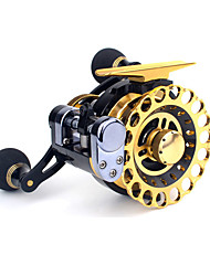 cheap -Fishing Reel Spinning Reel 2.6:1 Gear Ratio+10 Ball Bearings Right-handed / Left-handed Sea Fishing / Freshwater Fishing / Trolling & Boat Fishing