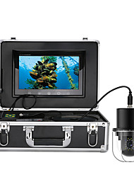cheap -FX10-100M 10 Inch 100m Underwater Fishing Video Camera Fish Finder IP68 Waterproof 20 LEDs 360 Degree Rotating Dome  Rotating Panoramic viewing Camera