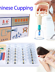 cheap -24 Unit Thickened Vacuum Cupping Apparatus Household Magnetic Therapy Suction Cupping Non Glass English Suit