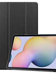 cheap -Case For Lenovo Lenovo Tab4 10(TB-X304F / N) / Lenovo YOGA TAB3 Plus 10.1(YT-X703) / Lenovo TAB4 10 Plus(TB-X704F / N) Flip Full Body Cases Solid Colored TPU / PC