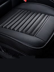 cheap -Car Front Seat Cover PU Non-slip Car Seat Cushion Cover Auto Chair Cushion PU Leather Pad Breathable Car Front Seat Cover for Four Seasons