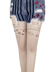povoljno -Harley Quinn čarape Žene Filmski Cosplay Halloween Prozirno Stockings Halloween Poliester