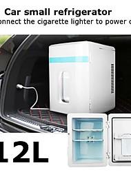 cheap -12L Mini Refrigerator for Car or Home with DC12V/AC220V Power Input Heating -25 - 65 Degrees (1 EU Plug Free Offer)