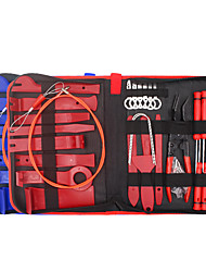 cheap -41Pcs Trim Removal Tool Pry Kit Car Panel Tool Radio Removal Tool Kit Auto Clip Pliers Fastener Remover Pry Tool Kit Car Upholstery Repair Kit Prying Tool Kit with Storage Bag