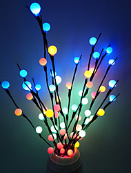 cheap -70cm String Lights 20 LEDs Dip Led 1pc Warm White White Blue Christmas New Year's Decorative Batteries Powered