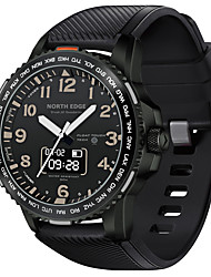 cheap -NORTH EDGE Men's Sport Watch Smartwatch Digital Outdoor Water Resistant / Waterproof Analog - Digital Black / One Year / Silicone / Touch Screen / Heart Rate Monitor / Chronograph
