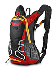 cheap -10 L Daypack Bike Hydration Pack & Water Bladder Cycling Backpack Reflective Waterproof Portable Bike Bag Terylene Bicycle Bag Cycle Bag Multisport