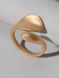 cheap -Ring Geometrical Gold Alloy Fashion 1pc 6 / Women's