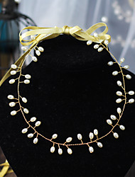 cheap -Simple Style Imitation Pearl / Alloy Headbands with Faux Pearl 1 Piece Wedding / Daily Wear Headpiece