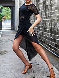 olcso -Latin tánc Ruha Csipke Kombinált Női Teljesítmény Csipke