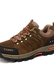 cheap -Men's Sneakers Hiking Shoes Anti-Slip Comfortable Running Hiking Autumn / Fall Winter Black Grey khaki