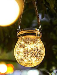 cheap -1X IP65 Solar Powered Ground Light Led Pathway Floor Light Garden Light Outdoor Lighting Underground Lamps Outdoor Garden Landscape Lawn Lamp
