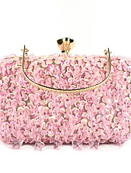cheap -Women's Bags Polyester Evening Bag Crystals Sequin Wedding Bags Party Event / Party Black Blushing Pink Gold Green