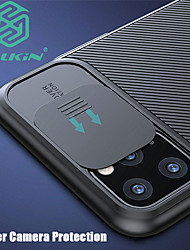 cheap -iPhone11Pro Max Nillkin Camera Lens Protective Case 11Pro Frosted Touch Hard Phone Case 7 8 SE 2020 Protective Case