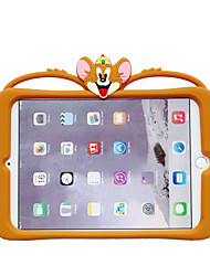 cheap -Case For Apple iPad Mini 1 2 3 iPad Mini 4 iPad Mini 5 with Stand Pattern Back Cover Cartoon Silica Gel