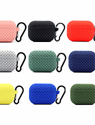 cheap -Earphone leather case Antifall cover AirPods Pro 3 luxury soft  silicone Protective cases AntiFingerprints