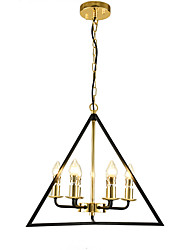 cheap -52cm American Simple Bedroom Study Chandelier Northern Europe living room dining hall corridor porch creative Mini Chandelier