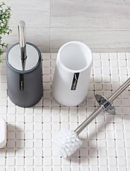 cheap -Plain Toilet Brush Set Bathroom Cleaning Brush Long Handle Toilet Brush Toilet Toilet Brush