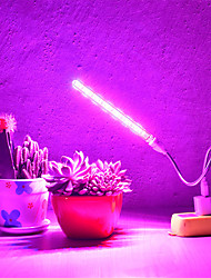 cheap -1pcs USB LED Grow Light for Indoor Plants Full Spectrum 10W DC 5V Fitolampy For Greenhouse Vegetable Seedling Plant Lighting Growing Phyto Lamp