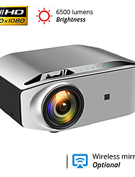 cheap -YG620 Projector 1080p 300 Full HD LCD Video Projector Beamer 1920x1080 Home Business Outdoor Projector Compatible with iPhone Android PC PS4 TV Stick HDMI VGA USB