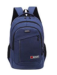 povoljno -Velika zapremnina Poliester Patent-zatvarač ruksak Jedna barva Dnevno Crn / Plava / Red