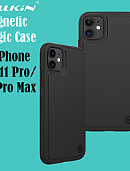 cheap -Nillkin iPhone11Pro Max Magic Pro Magnetic Back Cover Supports Wireless Fast Charging 11Pro Leather Feel Anti-fingerprint 11 Protective Case