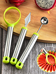 cheap -Fruit & Vegetable Tools Stainless Steel Multi-functional Fruit & Vegetable Tools Multifunction 3pcs
