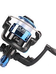 cheap -Fishing Reel Spinning Reel 5.2:1 Gear Ratio+3 Ball Bearings Sea Fishing / Freshwater Fishing / Trolling & Boat Fishing / Hand Orientation Exchangable