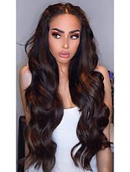 cheap -3 Bundles Hair Weaves Brazilian Hair Body Wave Human Hair Extensions Human Hair 300 g Weave 10-24 inch Brown Natural