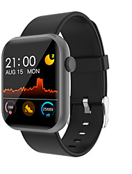 cheap -R3L Unisex Smart Wristbands Bluetooth Heart Rate Monitor Blood Pressure Measurement Sports Calories Burned Health Care Pedometer Call Reminder Sleep Tracker Sedentary Reminder Alarm Clock