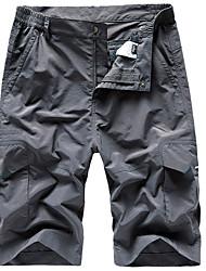 cheap -Men's Basic Loose Cotton Shorts Tactical Cargo Pants - Solid Colored Summer Army Green Khaki Dark Gray US32 / UK32 / EU40 / US34 / UK34 / EU42 / US36 / UK36 / EU44