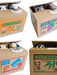 cheap -Itazura Coin Bank / Money Bank Piggy Bank / Money Bank Stealing Coin Bank Saving Money Box Case Piggy Bank Plastic Panda Cute Electric Adults' Boys' Girls' Toys Gifts