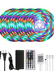 cheap -20M LED Strip Lights RGB Tiktok Lights Waterproof 1200LEDs Flexible Color Change 2835 with 44 Keys IR Remote Controller and 100-240V Adapter for Home Bedroom TV Back Lights DIY Deco