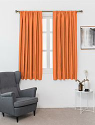cheap -Black Out Window Curtains - 1 Panels Thermal Curtain Drapes Insulated Window Treatments Light Block Short Blinds Rod Pocket for Small Window