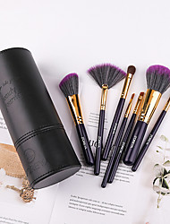 cheap -Professional Makeup Brushes 7 PCS Soft Adorable Artificial Fibre Brush Wooden / Bamboo for Foundation Brush Lip Brush Lash Brush Eyebrow Brush Eyeshadow Brush Makeup Brush Set