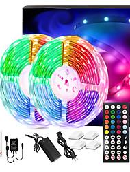 cheap -LED Strip Lights Music Sync 300LEDs 10M RGB LED Light Strip For Room Lighting SMD 5050 Color Changing Tape Lights Kit With LED Controller Flexible LED Strip For Home Kitchen DC12V