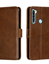 cheap -Case for Xiaomi Redmi Note 7 8 7pro 8pro Card Holder Magnetic Full Body Cases Lines Waves PU Leather
