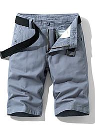 זול -מכנסיים בגדי ריקוד גברים צ'ינו אחיד סגנון רחוב / פאנק & גותיות חוץ