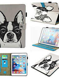 cheap -Case For Apple iPad Air / iPad (2018) / iPad Air 2 360° Rotation / Shockproof / Magnetic Full Body Cases Dog / Panda PU Leather / TPU / iPad (2017)