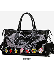 povoljno -Žene Šljokice Patent Leather Torba s ručkom Ručne torbe Crn / Blushing Pink / Djetelina