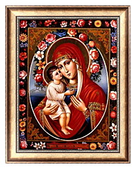 cheap -5D DIY Diamond Painting Cross Stitch Full Square Picture Religion Icon 5d Diamond Embroidery Mosaic New Year Decoration Gift