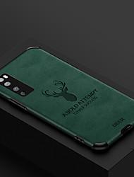 cheap -Huawei P40Pro Anti-falling Skinny elk Mobile Phone Case Mate30Pro Four-corner Anti-falling TPU Soft Shell Nova7 SE Protective Case