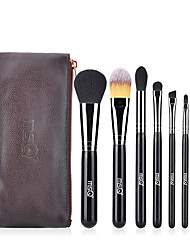 cheap -Professional Makeup Brushes 7pcs Professional Soft Full Coverage Artificial Fibre Brush Wooden / Bamboo for Blush Brush Foundation Brush Lip Brush Eyeshadow Brush