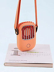 cheap -Portable Hanging Neck Fan Mini Pocket Air Cooling Fan Summer Outdoor Travel Lanyard Handfree Cooler USB Chargeable Fan