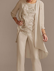 cheap -3/4 Length Sleeve Shrugs Chiffon Wedding / Party / Evening Women's Wrap With Solid