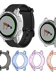 cheap -TPU Case Cover For Garmin Vivoactive 4S / Vivoactive 4 Smart Watch Protector Frame For Garmin Vivoactive 4 / 4S Protective Shell