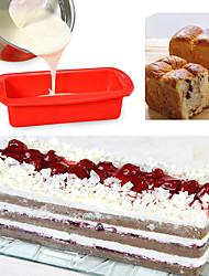 cheap -1pc Cake Molds Multifunction Rectangular Silicone Cake Molds Multifunction