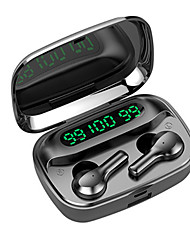 cheap -Imosi R4 TWS True Wireless Earbuds Bluetooth 5.0 Headphone 2000mAh Mobile Power for Smartphone LED Battery Display Touch Control Sports Fitness Earphones