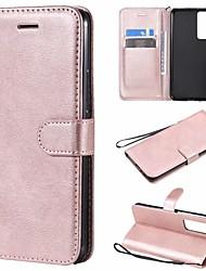 cheap -Case For Huawei Tablets Nova 7 5G nova 7 SE  nova 7 Pro 5G Card Holder Flip Full Body Cases Solid Colored PU Leather