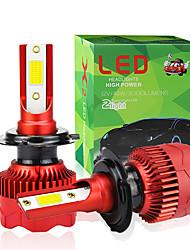 cheap -2pcs/set H7 LED H4 COB H1 H8 H11 H3 9005 9006 H9 9012 48W Car Led Auto Headlight Fog Bulb High Low Beam Spot Light HeadLamp 6000K 12V